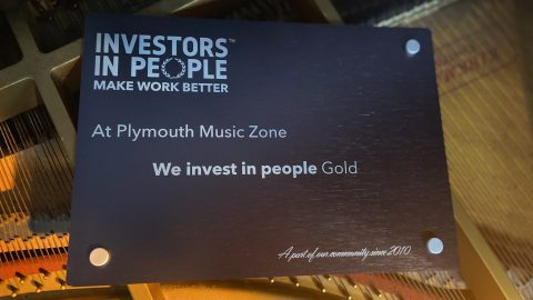 Plymouth Music Zone Gold Investor in People